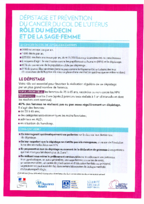 Prévention contre le cancer du col (Vaccination anti HPV)